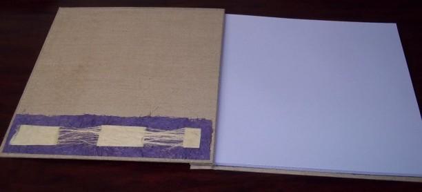 Album lin et papier