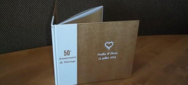 Livre signature 50e